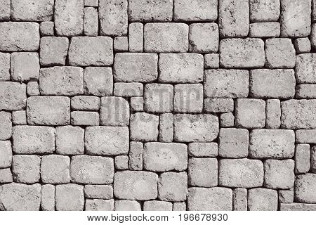 White masonry handmade wall abstract textured background