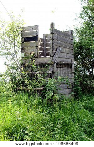 a view of a forest observation post