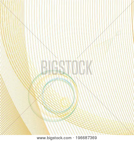 Abstract background with colorful waves .vector illustration.
