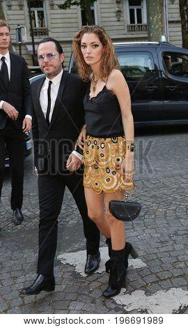 PARIS, FRANCE - JULY 04:  Sofia Sanchez de Betak attends Vogue Foundation Dinner  as part of Paris Fashion Week  Haute Couture Fall/Winter 2017-2018 July 4, 2017  Paris, France