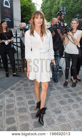 PARIS, FRANCE - JULY 04:  Ana Girardot attends Vogue Foundation Dinner  as part of Paris Fashion Week  Haute Couture Fall/Winter 2017-2018 July 4, 2017  Paris, France