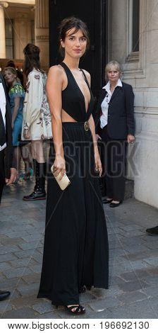 PARIS, FRANCE - JULY 04:  Jeanne Damas attends Vogue Foundation Dinner  as part of Paris Fashion Week  Haute Couture Fall/Winter 2017-2018 July 4, 2017  Paris, France