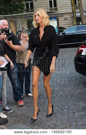 PARIS, FRANCE - JULY 04:  Anja Rubik  attends Vogue Foundation Dinner  as part of Paris Fashion Week  Haute Couture Fall/Winter 2017-2018 July 4, 2017  Paris, France