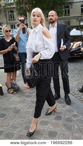 PARIS, FRANCE - JULY 04:   Larissa Hofmann attends Vogue Foundation Dinner  as part of Paris Fashion Week  Haute Couture Fall/Winter 2017-2018 July 4, 2017  Paris, France