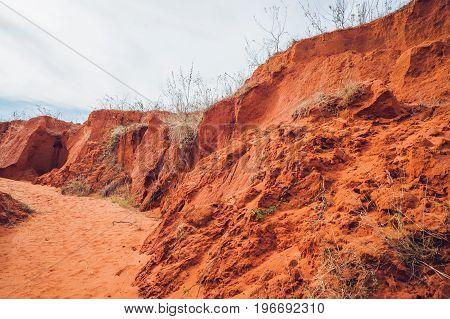 Red Canyon Near Mui Ne, Southern Vietnam