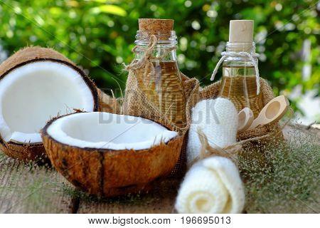 Nature Cosmetic, Coconut Oil