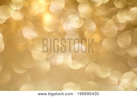 Gold Bokeh Background. The background with boke. Abstract texture. Color circles