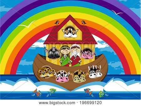 Noah And Ark Scene