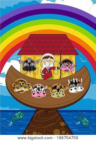 Noah And His Ark Scene