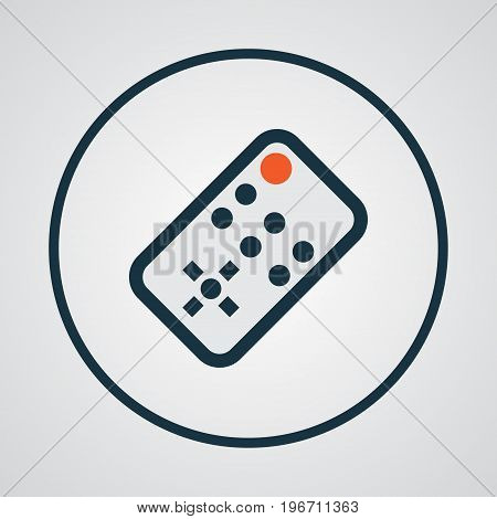 Premium Quality Isolated Controller Element In Trendy Style.  Remote Colorful Outline Symbol.