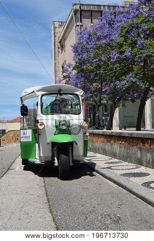 Tuk Tuk In Aveiro