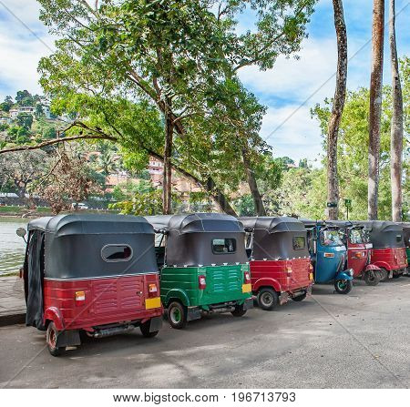 Traditional and popular Sri Lanka taxi