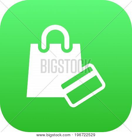 Vector Payment  Element In Trendy Style.  Isolated Shopping Icon Symbol On Clean Background.