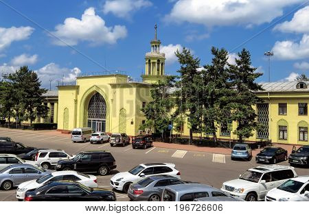 Almaty - Old Building Of Airport Of Almaty