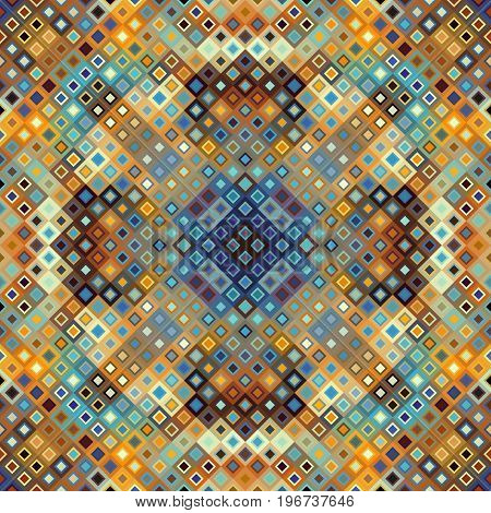 Seamless background. Geometric abstract diagonal pattern in low poly pixel art style.