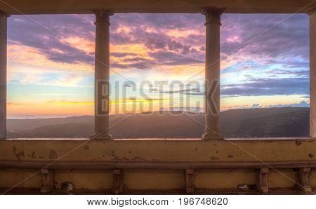 View of the Motovun Loggia Istria. Croatia