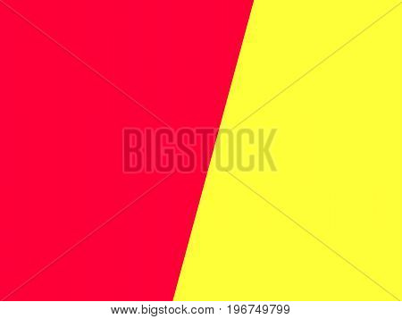 Abstract red yellow diagonal information presentation background