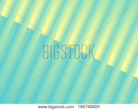 Abstract blue yellow geometric diagonal dynamic background