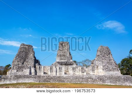 Beautiful Mayan Temple