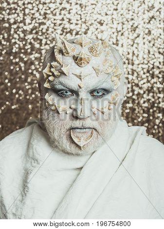 Man With Dragon Skin