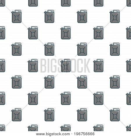 Jerrycan pattern seamless repeat in cartoon style vector illustration