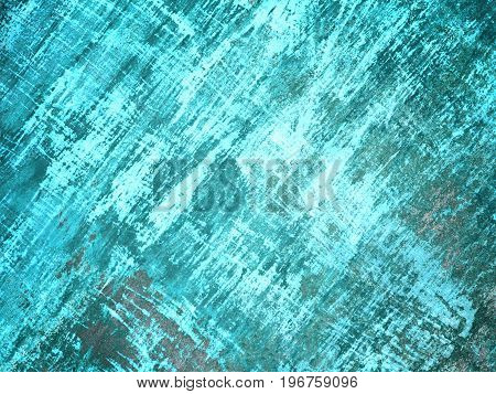 Light Teal wall texture for concrete background