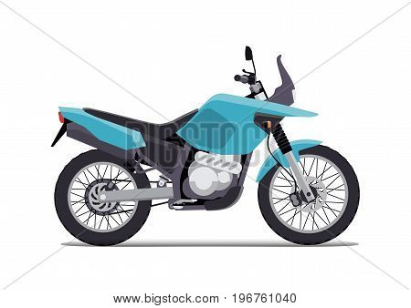 travel motorcycle off road, concept active lifestyle, enduro
