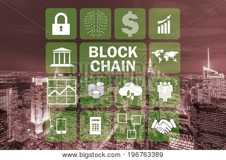 Blockchain concept in database management