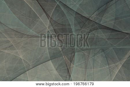 Abstract green fractal texture background concept of mystery.