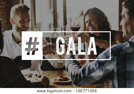 Achievement Success Celebration Gala Graphic