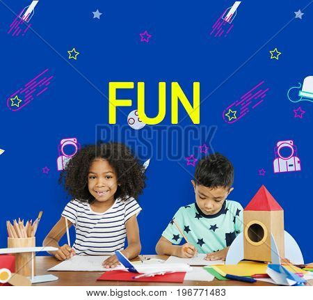 Childhood Enjoy Learning and Fun