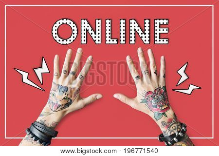 Online Technology Internet Digital Connection
