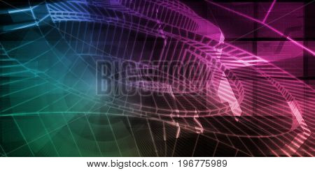 Business Development in a Company Strategy Art 3D Illustration Render