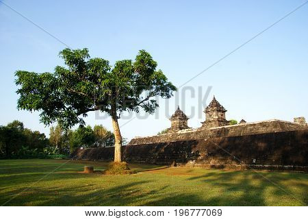 Barong Temple is a heritage of Hinduism located in Yogyakarta, Indonesia