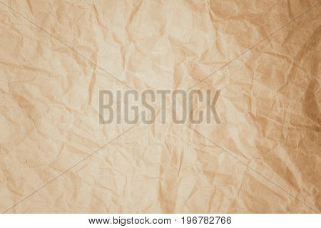 Old vintage brown page paper texture or background