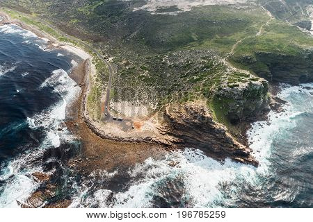 Cape Of Good Hope (south Africa) Aerial View
