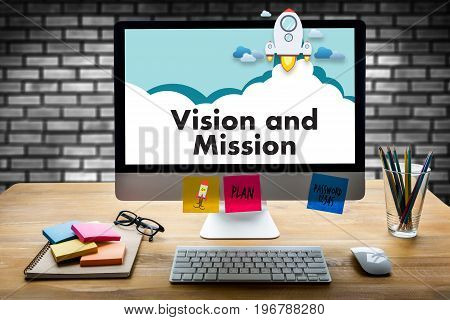 Vision And Mission Team Work Business Corporate Vision