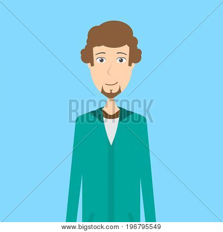 Animator Character Male | set of vector character illustration use for human, profession, business, marketing and much more.The set can be used for several purposes like: websites, print templates, presentation templates, and promotional materials.