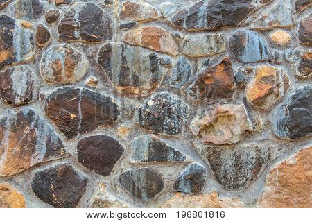 Background Of Stone Wall Texture Abstract For Design