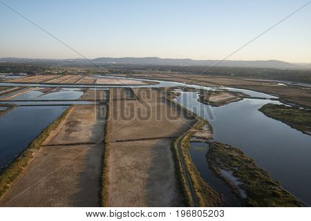 Portugal Algarve Faro Salinas