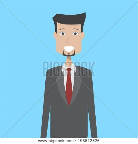 Employer Character Male | set of vector character illustration use for human, profession, business, marketing and much more.The set can be used for several purposes like: websites, print templates, presentation templates, and promotional materials.