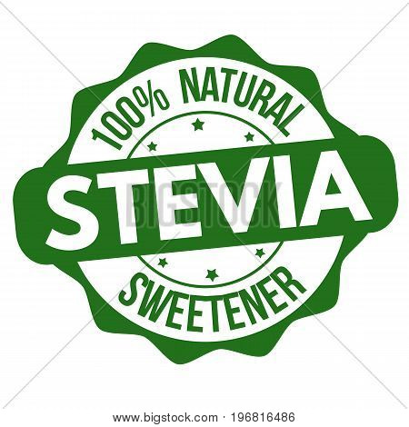 Stevia Sign Or Stamp