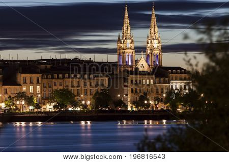 Saint-Louis des Chartrons Church in Bordeaux. Bordeaux Nouvelle-Aquitaine France.