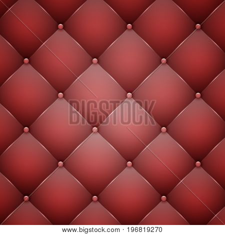 Red Leather Texture.