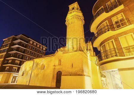 Church of San Nicolas de la Villa in Cordoba. Cordoba Andalusia Spain.