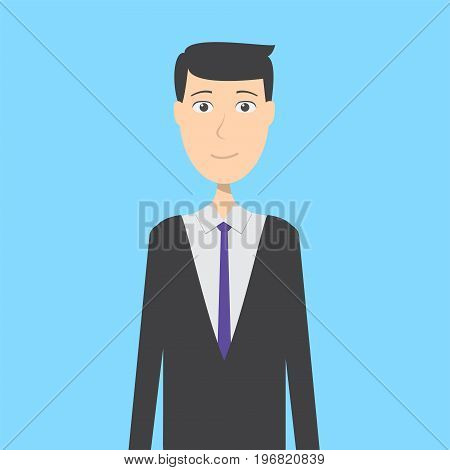 Reservation Man Character | set of vector character illustration use for human, profession, business, marketing and much more.The set can be used for several purposes like: websites, print templates, presentation templates, and promotional materials.