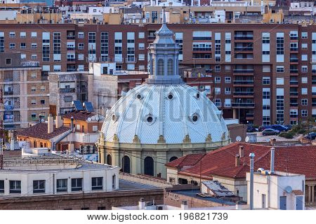 Basilica of the Charity in Cartagena. Cartagena Murcia Spain.