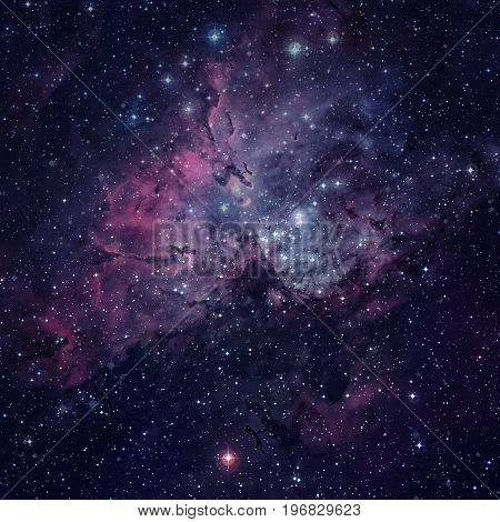 The Eagle Nebula. Elements Of This Image Furnished By Nasa.