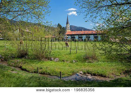 Springtime At Schliersee Health Resort