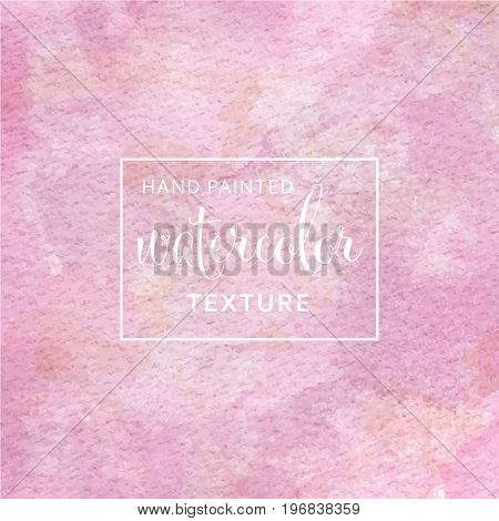 Pink Pastel Watercolor On Tissue Paper Pattern
